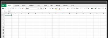 Creating A Spreadsheet Zoho Sheet Create And Edit Spreadsheets