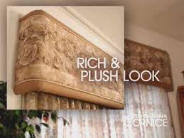 Board Mounted Valance Ideas Window Coverings Ideas Top Banana Cornice How To Make A Cornice