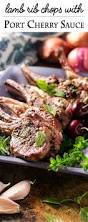 Rack Of Lamb On Grill Grilled Lamb Chops With A Fresh Cherry Port Sauce Just A Little