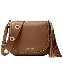 macys michael kors boots black friday sale michael michael kors brooklyn medium saddle bag handbags