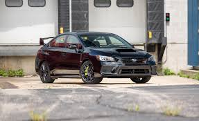 subaru wrx interior 2018 2018 subaru wrx sti in depth model review car and driver