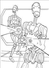 star wars battle droids coloring free printable coloring pages