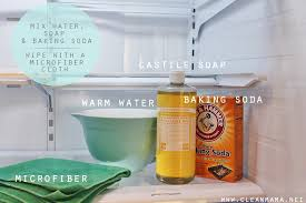 how to clean your refrigerator clean mama