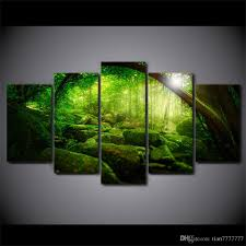 shopping online for home decor green forest canvas oil paintings online green forest canvas oil