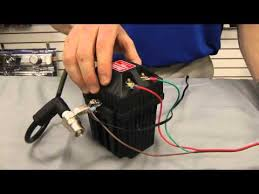 mallory ignition testing ignition coil for positive spark video
