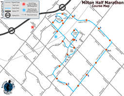 Boston Marathon Route Map by Half Marathon Barefoot Journey