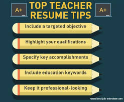 Best Resume Format For Teachers by Sample Teacher Resume