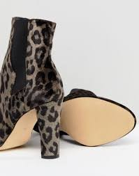 womens boots river island s boots river island wide fit leopard print heeled ankle