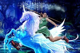 here u0027s kelly olynyk riding a unicorn just because sbnation com
