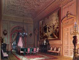 Mansion Of Baron AL Stieglitz The Diningroom Luigi Premazzi - Mansion dining room