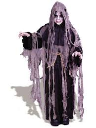 Childrens Scary Halloween Costumes Gauze Reaper Kids Scary Halloween Costume Boys Costume