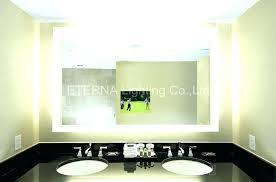 backlit bathroom vanity mirror backlit bathroom vanity mirror mirrors wall lighted with remodel 7
