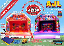 ajl uk andy j leisure inflatables for sale bouncy castles