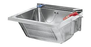 wall mount laundry sink franke utility sink ltj450 for wall mounting made of stainless steel