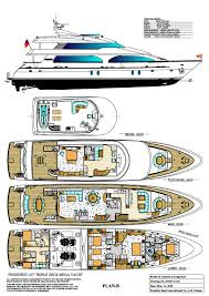 Yacht Floor Plan by Eagle Marine Europe