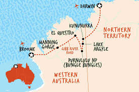 Australian Outback Map Adventure Tours Small Group Tours U0026 Trips Adventure Tours Australia