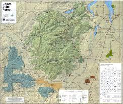 Washington Map State Capitol State Forest Map Oakville Washington U2022 Mappery