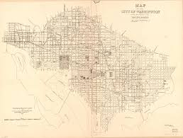 Map Of Washington Cities by 1885 Map Of Washington Sewers And Water Mains Ghosts Of Dc