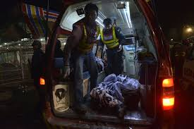 lahore blast deadly explosion in park in lahore pakistan the two