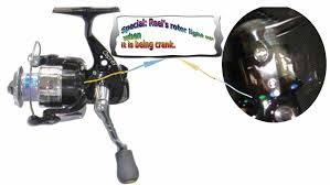 osprey unqiue spinning closed reel with a row of