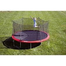 Safest Trampoline For Backyard by Propel Trampolines 15 U0027 Enclosed Trampoline With Anchor Kit
