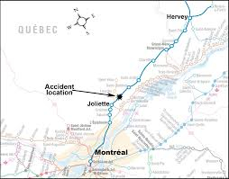 Canadian Pacific Railway Map Transportation Safety Board Of Canada Railway Investigation