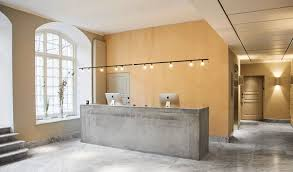 Concrete Reception Desk Nobis Hotel Copenhagen 11 Ideas To For A Minimalist
