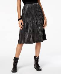 pleated skirts armani exchange pleated skirt skirts women macy s
