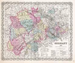 Map Of Frankfurt Germany by File 1855 Colton Map Of Western Germany Westphalia Rheinland