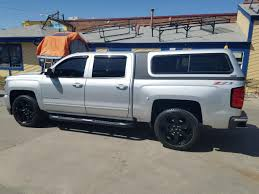 chevy colorado silver 2017 chevy are overland silver suburban toppers