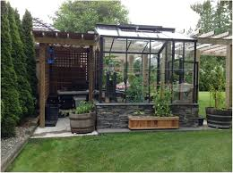backyards gorgeous greenhouses for backyard cool green house