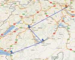 map of montreux murren to montreux switzerland itinerary a day not wasted