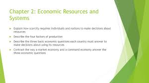 unit 1 the economy and you ppt download
