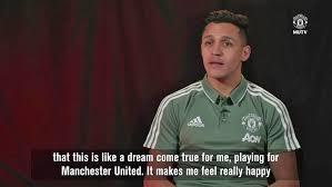 bli bli united sánchez intervju sa til ferguson at drømmen min var å bli united