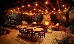 Backyard String Lighting Ideas The Images Collection Of Deck String Lighting Ideas Lighting Tiki
