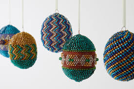 egg ornaments artifacts how it s made handmade beaded egg ornaments