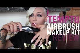 Airbrush Makeup Professional Temptu Airbrush Makeup Review Demonstration Youtube
