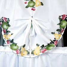 Kitchen Curtains With Fruit Design by Fruit Decals Pattern Curtain Set Curtains For Kitchen Bedroom Door