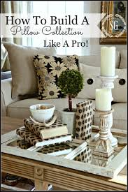 how to build a pillow collection like a pro stonegable