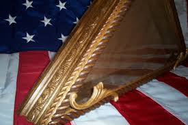 Flag Displays Flag Case For Military Or Memorial Flags Matching Shadow Boxes