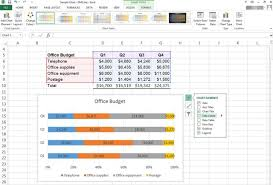 how to use excel to make a percentage bar graph techwalla com