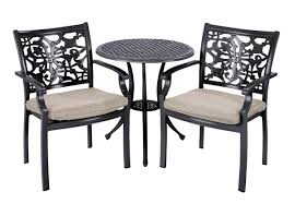 Metal Garden Table And Chairs Uk Hartman Celtic Bistro Set In Bronze Hayes Garden World