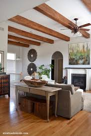 White Ceiling Beams Decorative by 32 Wonderful Ideas To Design Your Space With Exposed Wooden Beams
