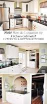 How To Organize Your Kitchen Counter 11 Tips For Organizing Your Kitchen Cabinets