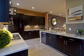 Matte Black Kitchen Cabinets Contemporary Kitchen With Black Kitchen Cabinets Stainless Steel