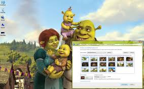 shrek windows 7 theme download