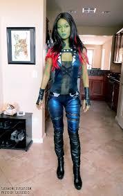 gamora costume guardians of the galaxy gamora by moni aipt