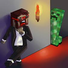 captainsparklez jerry captainsparklez vs the creeper by jennie mau5 on deviantart