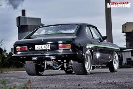 lexus v8 hp ford capri streeter powered by twin turbo lexus v8 street machine
