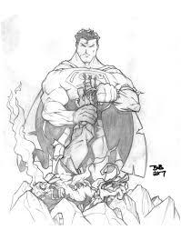 wolverine vs superman 2 by sketchheavy on deviantart